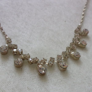 Icing rhinestone necklace